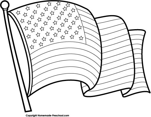 Clip Art Black And White Flag Clipart