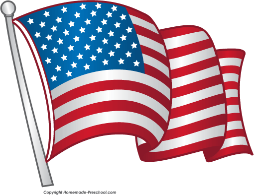 Gallery For u0026gt; Us Flag Pole Clip Art