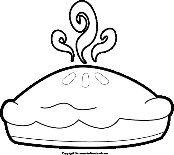Apple Pie Clipart Black And White Apple Pie Clipart Black