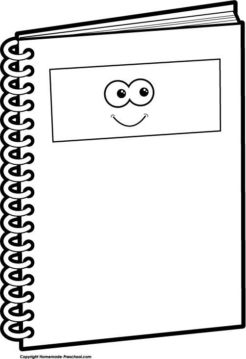 notebook coloring page sketch coloring page