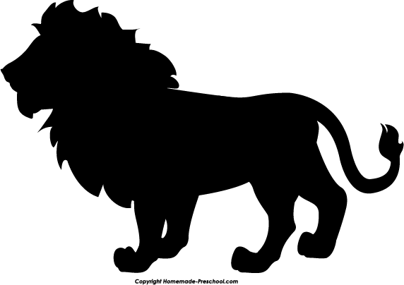 home free clipart silhouette clipart silhouette lion
