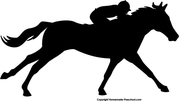Horse Running Silhouette - photo#28