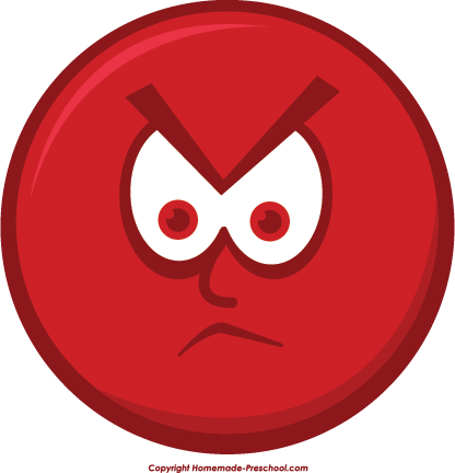 Angry Smiley Face Clip Art Angry, smiley face clipart