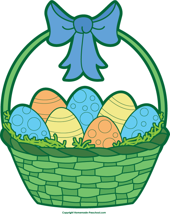 clip art for easter baskets - photo #16