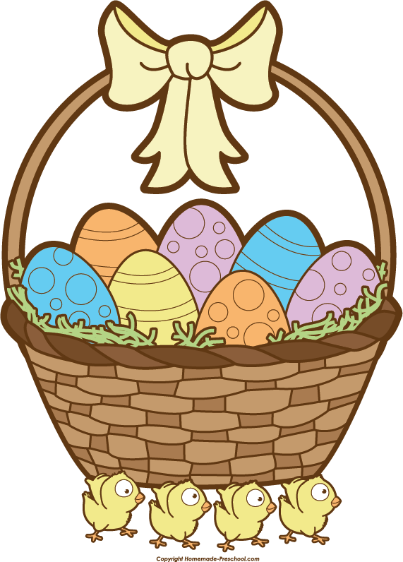 clip art for easter baskets - photo #6