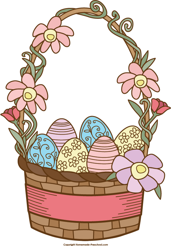 clip art for easter baskets - photo #11