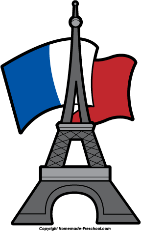 home free clipart eiffel tower clipart eiffel tower flag behind