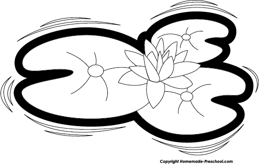 Pads Clipart Clipart Lily Pad on Water