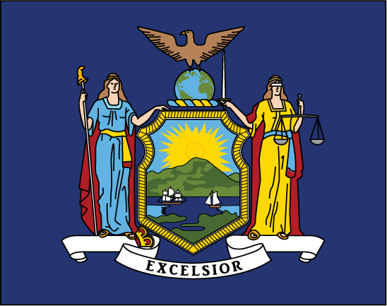 New York Space State Flag