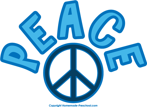 Fun and Free Peace Sign Clipart
