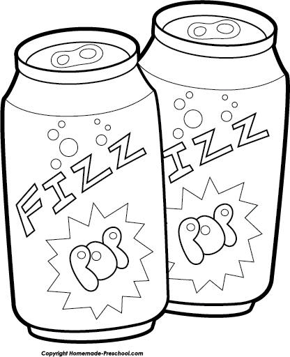 Clipart Soda Pop Cans