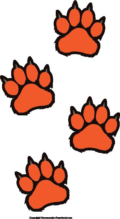 tiger print clip art - photo #16
