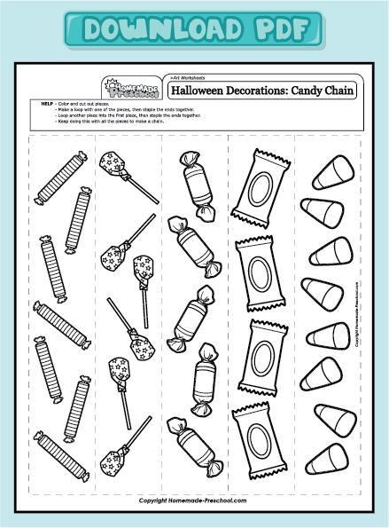 Candy Worksheets For Kindergarten : Fun and interactive preschool worksheets