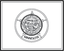 State flag coloring pages for Minnesota state flag coloring page
