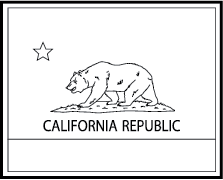State flag coloring pages for Nevada state flag coloring page