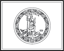 State Flag Coloring Pages Virginia State Flag Coloring Page
