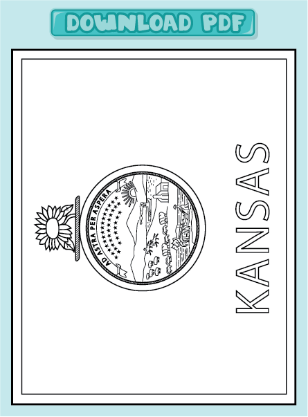 oklahoma state flag coloring pages - photo #50