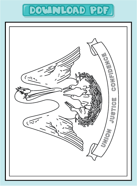 louisiana flag coloring pages - photo#20