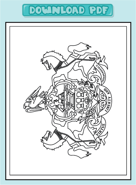 pennsylvania coloring pages - photo#23