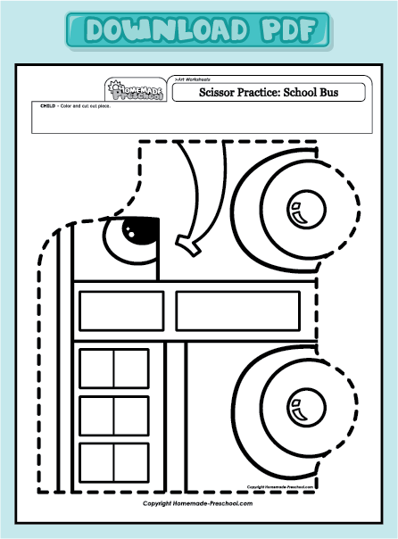 Free Coloring Pages Of Practice Cutting