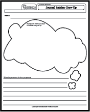language worksheets journal entries. Black Bedroom Furniture Sets. Home Design Ideas
