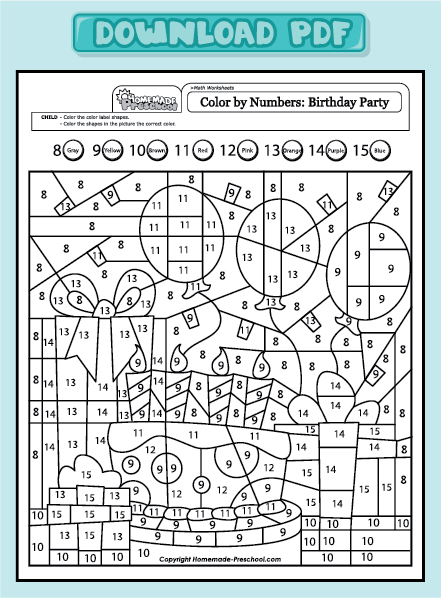 kid worksheet