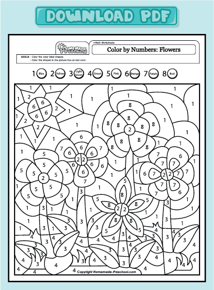 subtraction for nursery Colouring Pages (page 2)