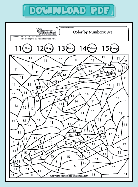 Multiplication Color By Number Worksheets : Search Results : Calendar 2015