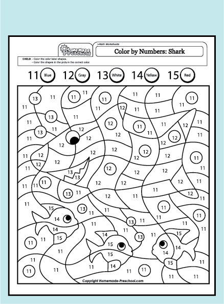 addition color by number addition worksheets pdf free math worksheets for kidergarten and. Black Bedroom Furniture Sets. Home Design Ideas