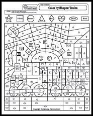 math worksheets shapes. Black Bedroom Furniture Sets. Home Design Ideas