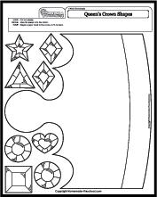 worksheet-math-crown-jewel Queen Worksheet For Kindergarten on consonant blends, fun phonics, free printable 5 senses, double ten frame, winter math, letter review, my house,