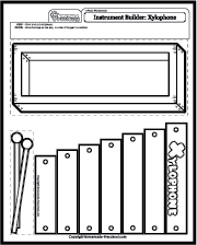 Music Worksheets - Instruments