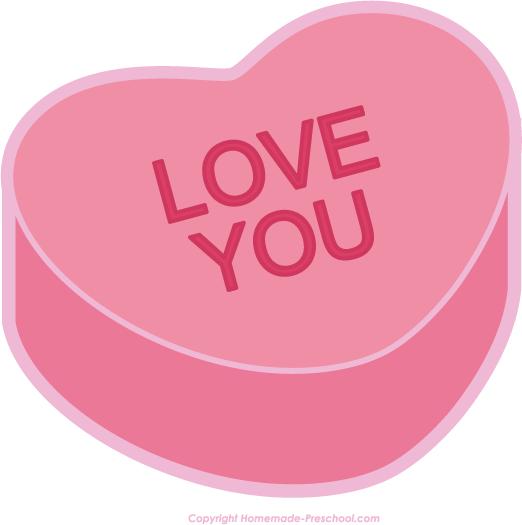 Free Valentine Heart Clipart 522x525