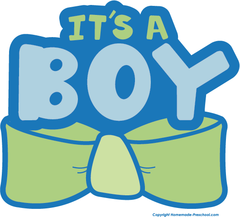baby shower word clip art - photo #50