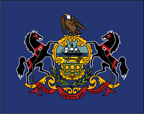 Free State Flag Clipart