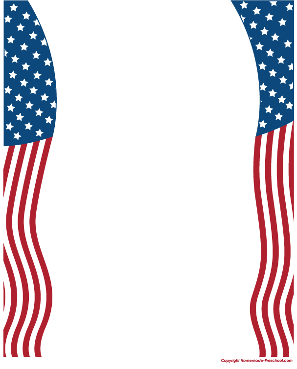 free american flags clipart rh homemade preschool com american flag clipart free flag day clipart free