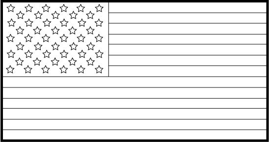 Usa flag white. Free american flags clipart