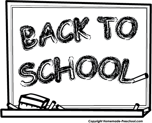 free education clipart black and white - photo #24