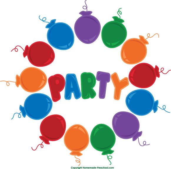 free birthday balloons clipart rh homemade preschool com