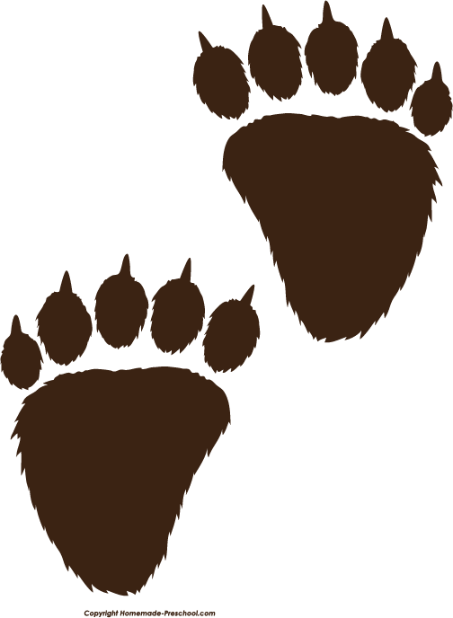 image about Printable Paw Prints named Cost-free Paw Prints Clipart