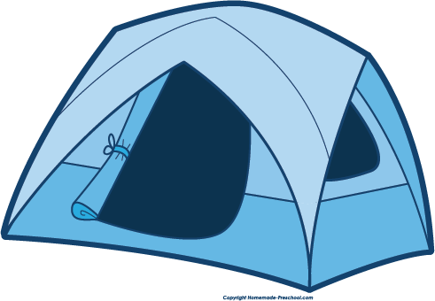 Camping canteen. Free clipart