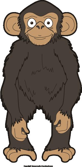 free monkey clipart