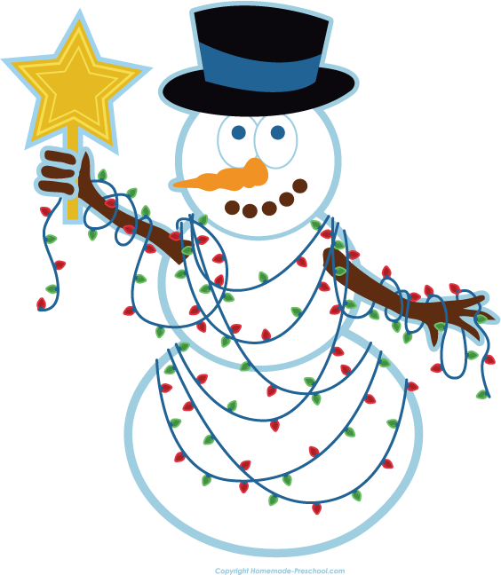 Christmas Lights Clipart.Free Christmas Lights Clipart