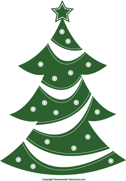 Clip Art Christmas Tree Clip Art Free free christmas tree clipart click to save image