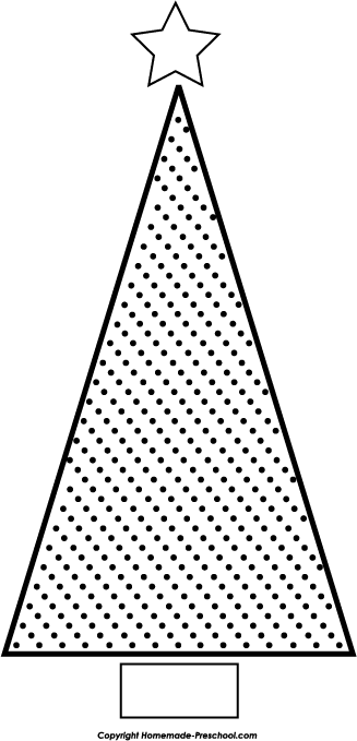 Christmas Tree Clipart Outline.Free Christmas Tree Clipart