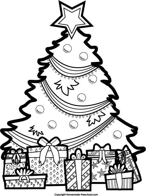 free christmas tree clipart. Black Bedroom Furniture Sets. Home Design Ideas