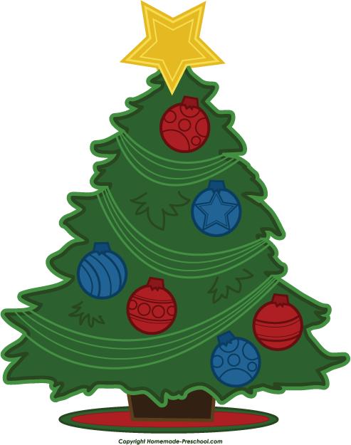 click to save image - Free Christmas Tree