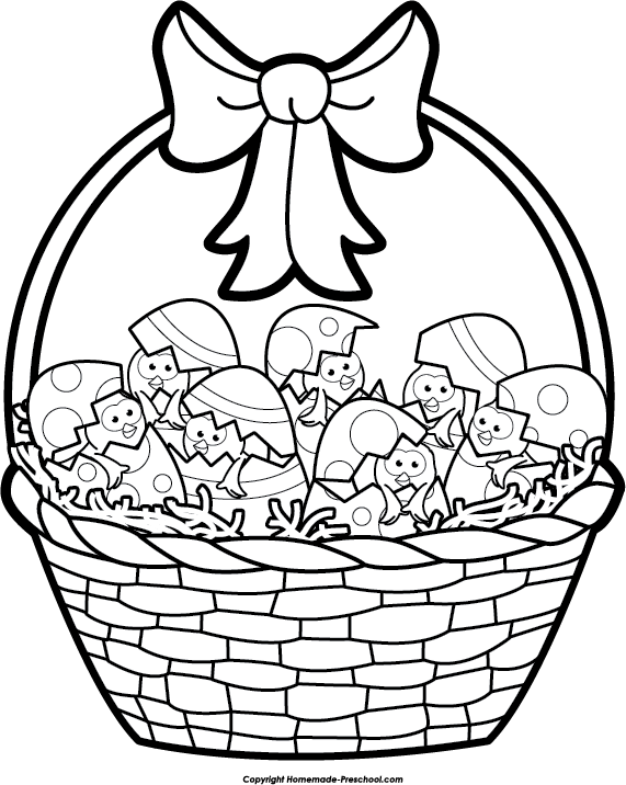 Click To Save Image Happy Easter Basket