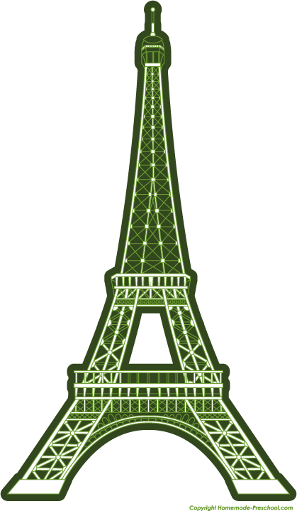 Free Eiffel Tower Clipart