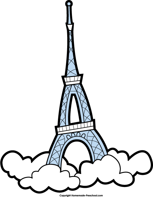 Clip Art Eiffel Tower Clipart free eiffel tower clipart click to save image